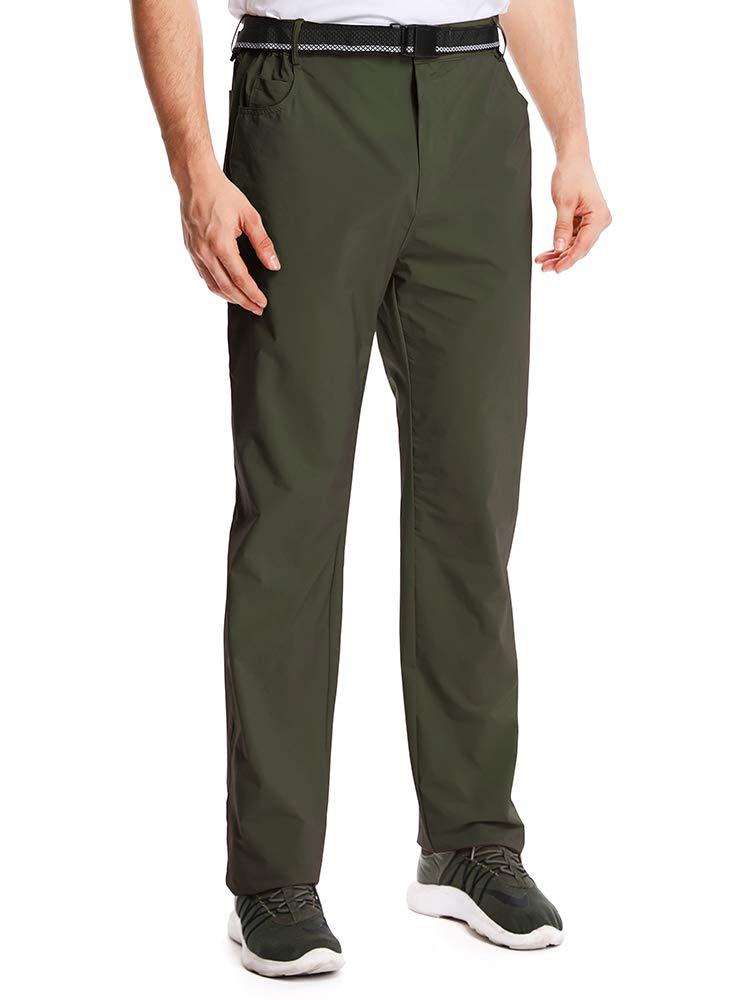 Jessie Kidden Hiking Pants Mens, Outdoor UPF 50+ Quick Dry Lightweight Safari Fishing Cargo Pants