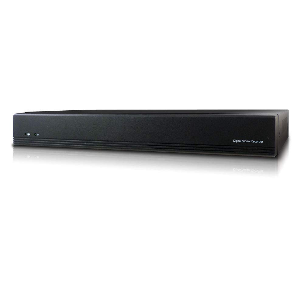 Microseven 4K NVR 8MP 8CH Compatible with Alexa, H.265 Security Network Video Recorder (1080p/3MP/4MP/5MP/6MP/8MP) Supports up to 8 x 8-Megapixel IP Cameras, Max. 8TB HDD 1 x SATA (Not Included)