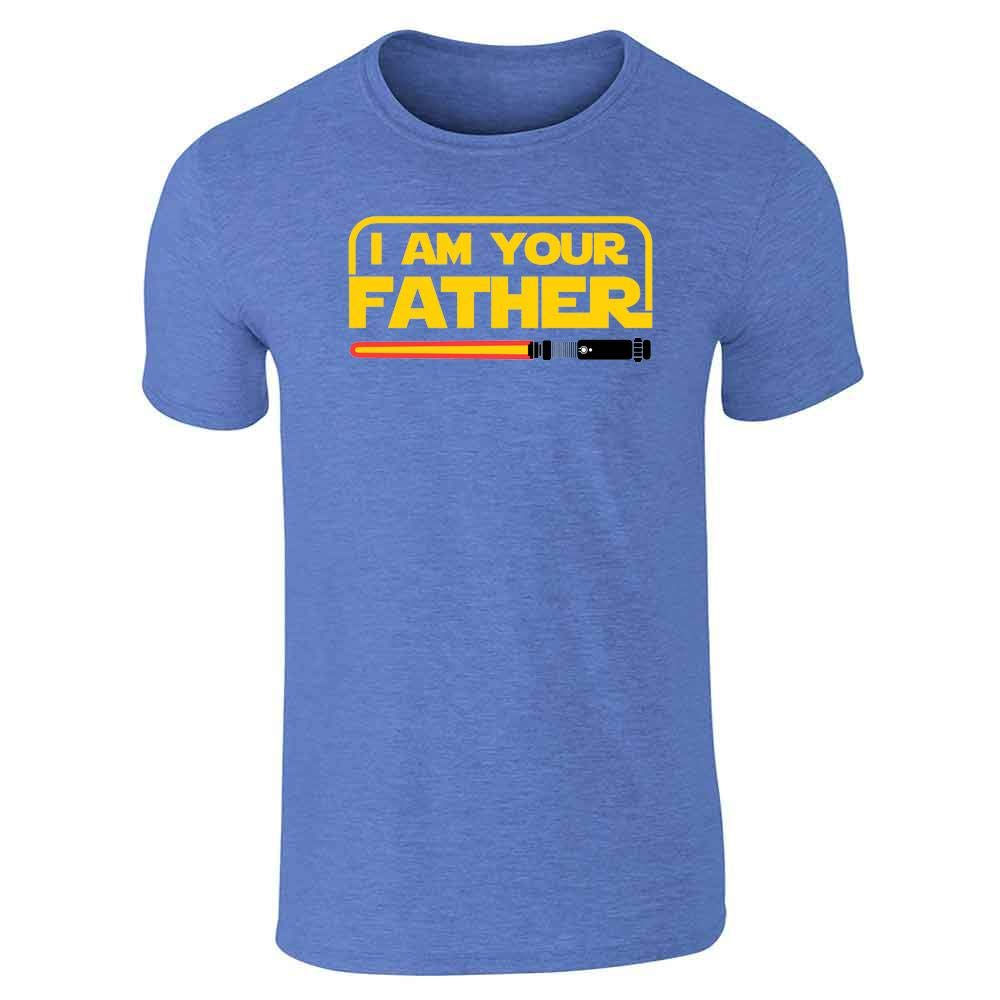 I Am Your Father Funny Dad Gift for Dad Family Graphic Tee T-Shirt for Men