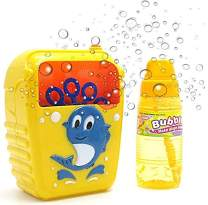 Bubble Machine   Kids Battery Operated Portable Bubble Maker Machine Dolphin Automatic Bubble Maker   Simple and Easy to Use