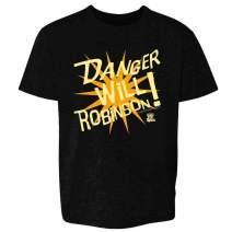 Lost in Space Retro B9 Robot Danger Will Robinson Toddler Kids Girl Boy T-Shirt
