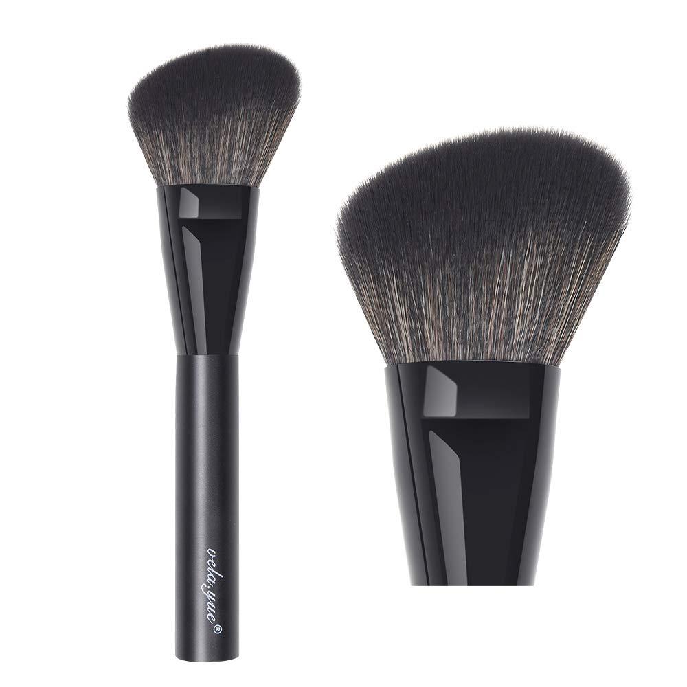 vela.yue Angled Blush Brush Face Powder Blusher Bronzer Highlighter Contour Makeup Brush