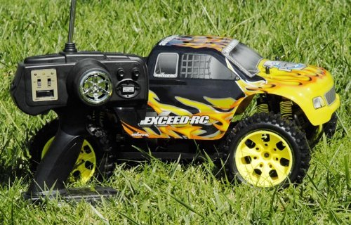 Exceed RC 1/10 2.4Ghz Electric Infinitive EP RTR Off Road Truck (Fire Yellow)
