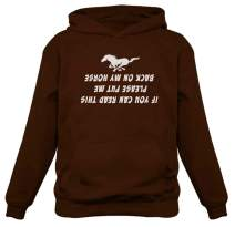 Put Me Back On My Horse Funny Gift for Horse Lover Women Hoodie