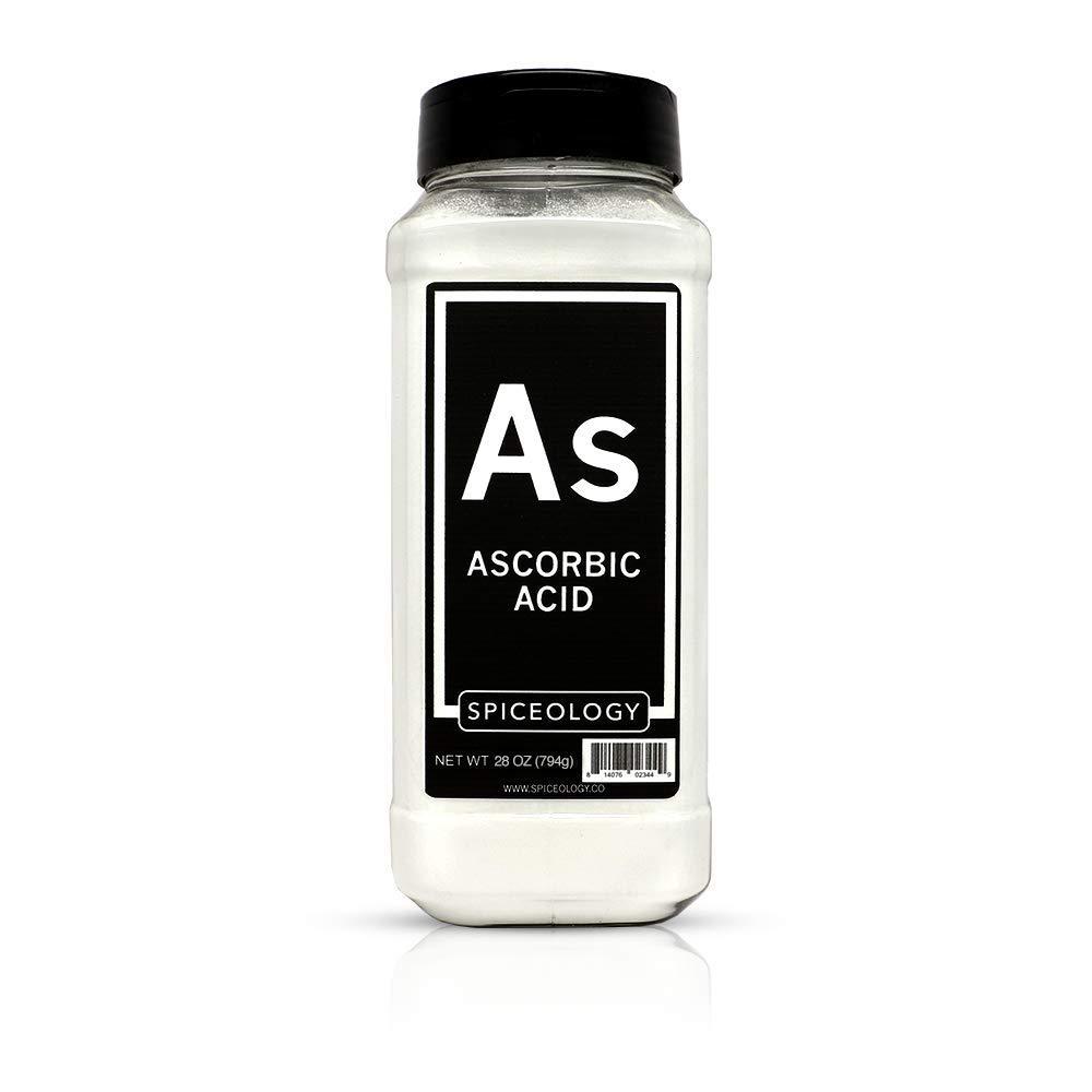 Ascorbic Acid Powder - Spiceology Food Grade Vitamin C Powder - 28 ounces