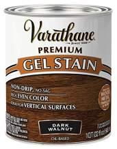 Varathane 358301 Premium Gel Stain, Quart, Dark Walnut