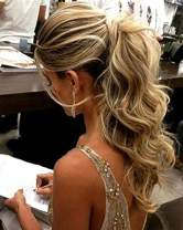 Hetto Wrap Around Ponytail Hairpiece #8 Light Brown and #24 Light Blonde Long Drawstring Ponytail Extension Clip in Hair 16 Inch 80Grams