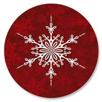 Joyful Greetings Christmas Envelope Seals - Set of 72 Holoiday Envelope Stickers