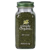 Simply Organic Dill Weed, Cut & Sifted, Certified Organic   0.81 oz   Anethum graveolens L.