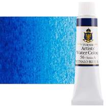 Turner Concentrated Professional Artists' Watercolor Paint 15ml Tube - Phthalo Blue (Red Shade)
