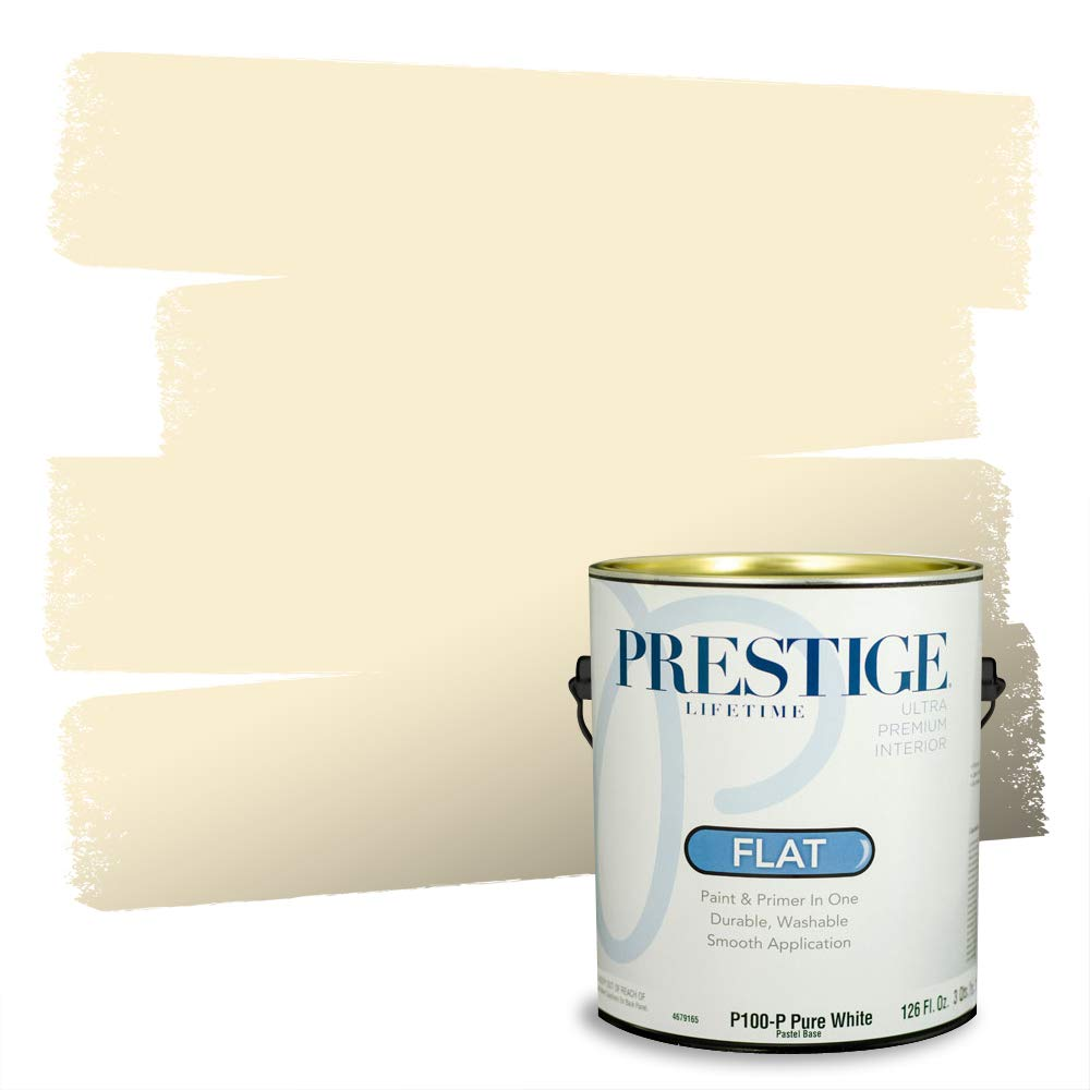 Prestige Interior Paint and Primer in One, 1-Gallon, Flat, Sunlit Mesa