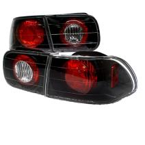 Spyder Honda Civic 92-95 2/4DR Altezza Tail Lights - Black