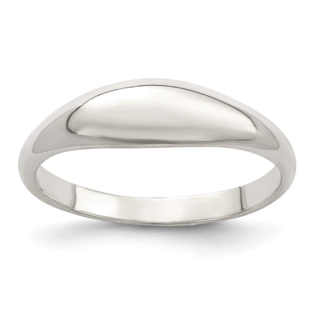925 Sterling Silver Domed Band Ring Fine Jewelry Gifts For Women For Her
