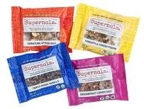 Supernola Healthy Paleo Snack Mix Delicious High Protein Gluten Free Vegan Grab & Go Snack Mix, 4 Flavor Variety Pack, 1.5 Ounce Bags (Pack of 4)