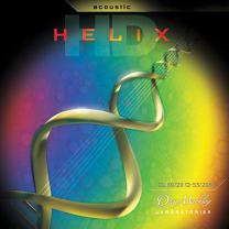 Dean Markley HELIX HD Acoustic Guitar Strings, 12-53, 2082, Custom Light