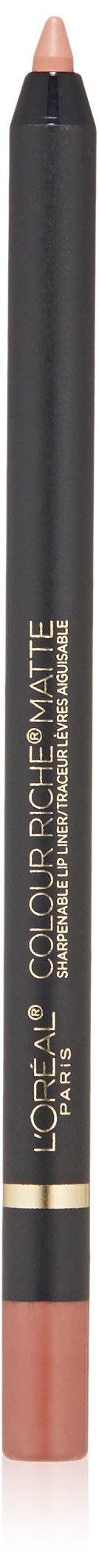 L'Oréal Paris Colour Riche Matte Lip Liner, Matte-Stermind, 0.04 oz.