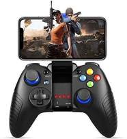Mobile Game Controller, PowerLead PG8710 Gaming Controller Wireless Gamepad Compatible with iOS Android iPhone iPad(Does not Support Above iOS 13.4)