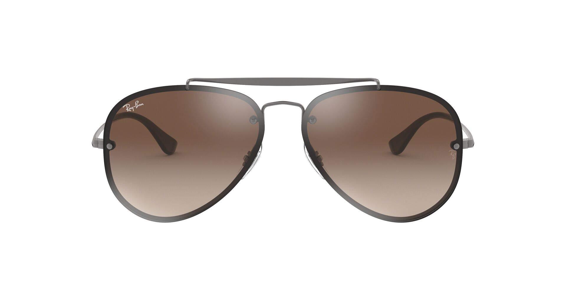 Ray-Ban Women's Blaze Flat Lens Pilot Aviator Sunglasses