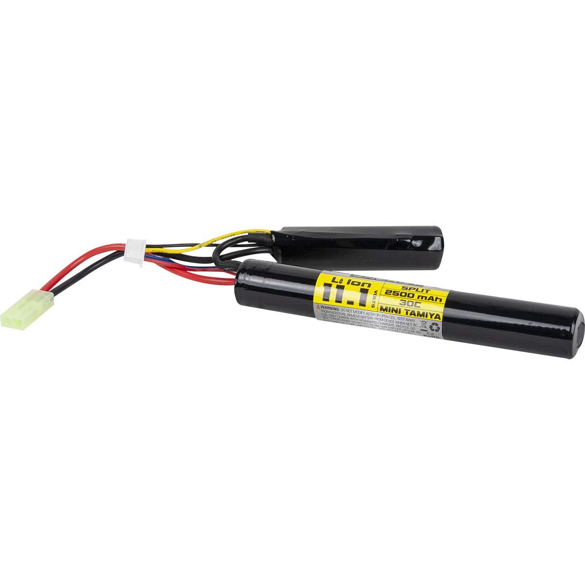 Valken Airsoft Battery - Li-Ion 11.1V 2500mAh Split Style(High Output)