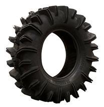 SuperATV Terminator Mud Tire - RZR, X3, General, Maverick, Ranger, Rock & All Terrain UTV - (29.5x10-12)