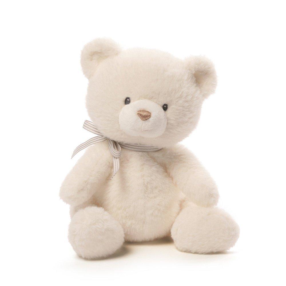 """Baby GUND Oh So Soft Teddy Bear Stuffed Animal Plush, Cream, 12"""""""