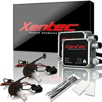 XENTEC 55W Standard Size Ballasts x 2 bundle with 2 x Xenon Bulb H13/9008 Hi/Lo GREEN offroad w/Hi-beam Halogen