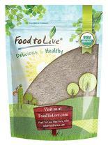 Organic Buckwheat Flour, 1 Pound - Non-GMO, Kosher, Unbleached, Unbromated, Unenriched, Stone Ground, Powder, Meal, Bulk