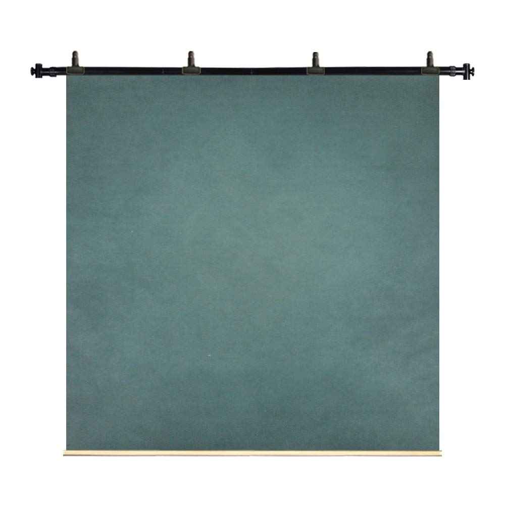 Kate 8x8ft/2.5x2.5m Hand Painted Oil Painting Canvas Green Blue Mottled Texture Spray Backdrops Portrait Video Photography Studio Props