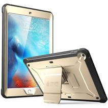 SUPCASE  Unicorn Beetle Pro Series  Case Designed for iPad 9.7 2018 / 2017, with Built-In Screen Protector and Dual Layer Full Body Rugged Protective Case for iPad 9.7 5th / 6th Generation (Gold)