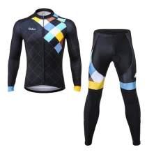 Men's Urban Cycling Windsor Long Sleeve Jersey, Tights, or Kit Bundle