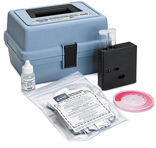 Hach 2842800 Chlorine Dioxide Color Disc Test Kit, Model CLD-2