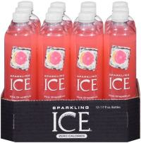 Sparkling ICE Spring Water (Pink Grapefruit, 17 Oz, Pack of 24 Units)