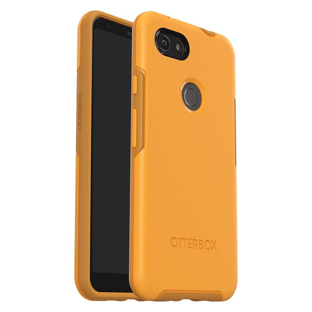 OtterBox Symmetry Series Case for Google Pixel 3a XL - Retail Packaging - Aspen Gleam (Citrus/Sunflower)