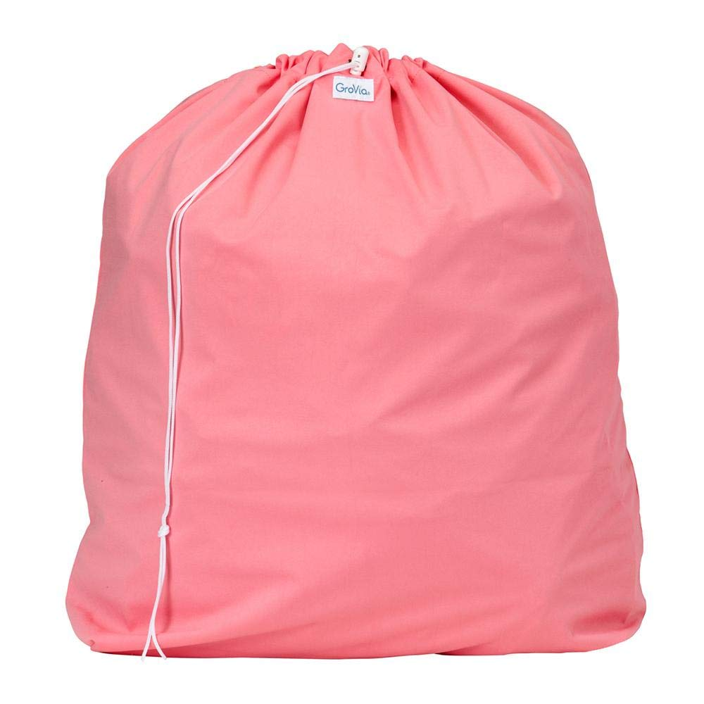 Grovia Reusable Diaper Pail Liner for Baby Cloth Diapers, Rose