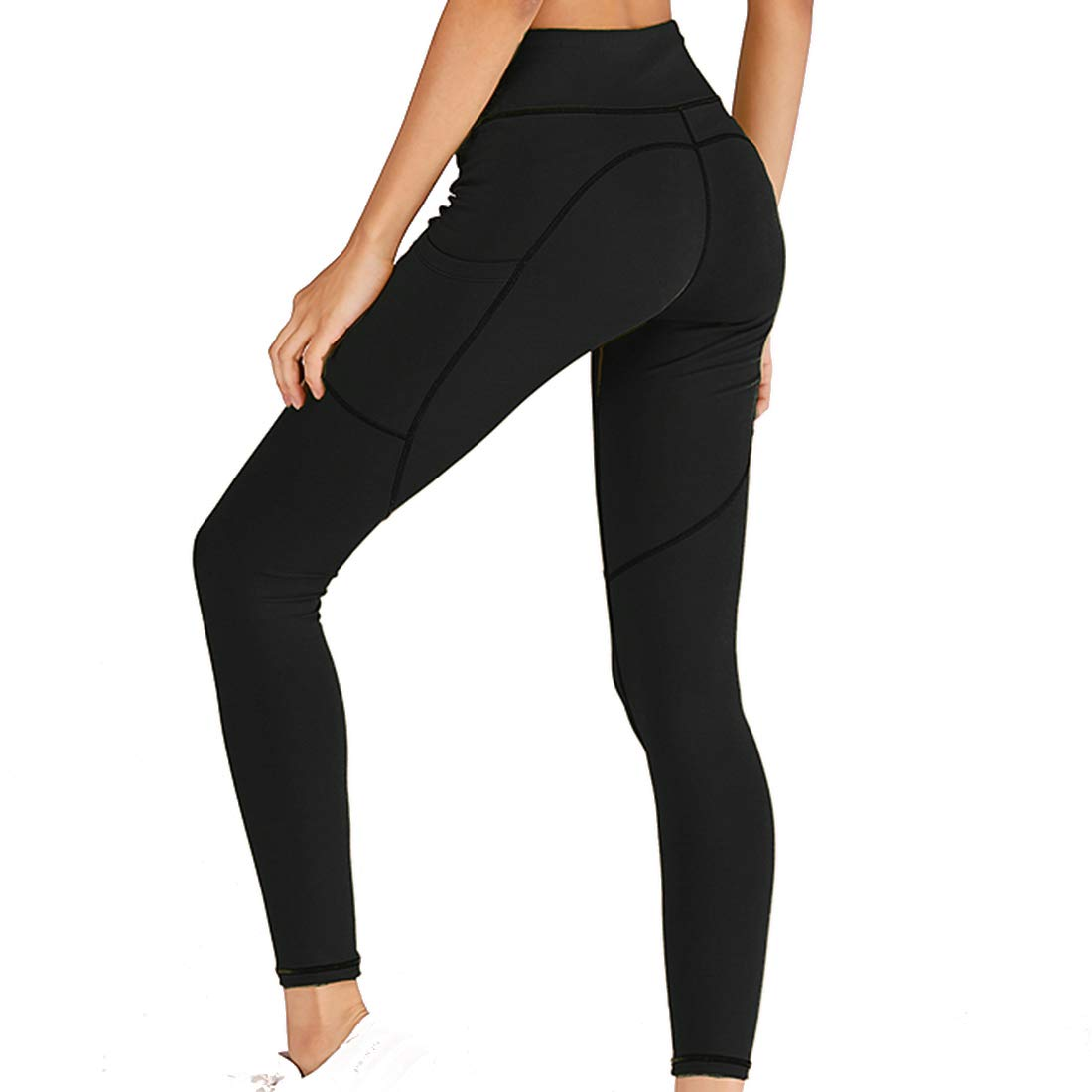 RUUHEE Women Workout Leggings High Waisted Seamless Compression Yoga Pants