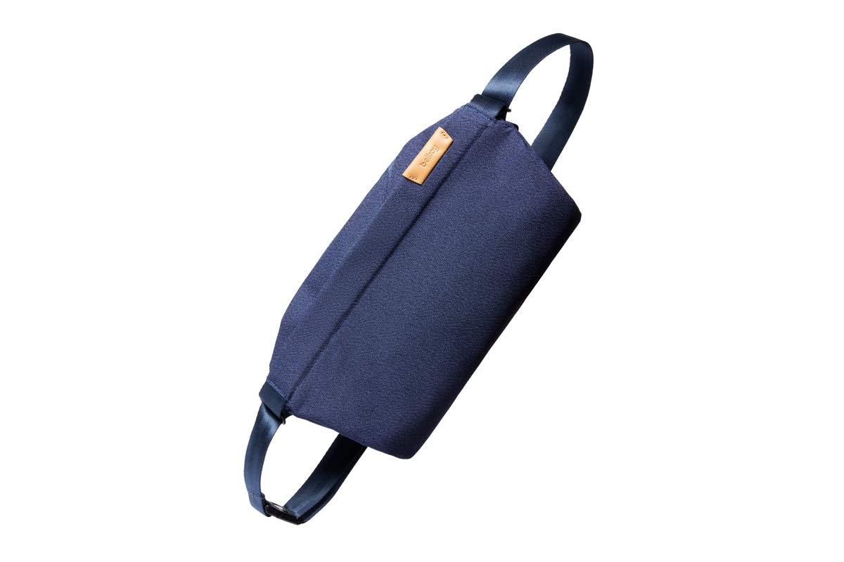 Bellroy Sling Bag, Unisex Compact Crossbody Bag, Water-resistant Materials - Ink Blue
