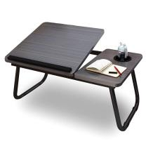 Highger Lap Desk - Fits up to 17 inches Laptop Desk for Bed and Sofa,Portable Bed Trays for Eating Writing Reading Notebook Holder & Stand ,Adjustable & Foldable