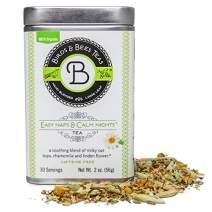 Birds & Bees Teas - Sleep Tea & Bedtime Tea for Insomnia Relief - Easy Naps & Calm Nights Pregnancy Tea and Organic Loose Leaf Blend Calming Tea for The Family, 30 Servings, 2.0 oz