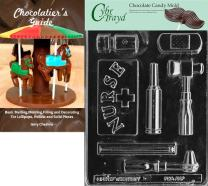 Cybrtrayd Nurse Kit Chocolate Candy Mold with Chocolatier's Guide Instructions Book Manual