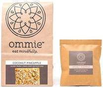 Ommie Snacks Nut-Free Energy Bar (7 Pack) -Coconut Pineapple Fruit & Seed Bar | Allergy Free: Nut Free, Gluten Free, Soy Free, Egg Free, Dairy Free | Vegan | Free of Junk: No added sugars, dates, oats