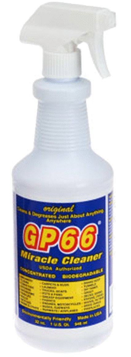 gp66 green miracle cleaner case from GP66 (12, 32 oz bottles.) cleans just about anything anywhere green product concentrated oven cleaner concrete cleaner laundry detergent grout and more
