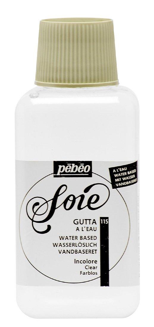 PEBEO 115000 Setasilk Silk Painting Water Based Gutta 250-Milliliter Bottle, Colourless