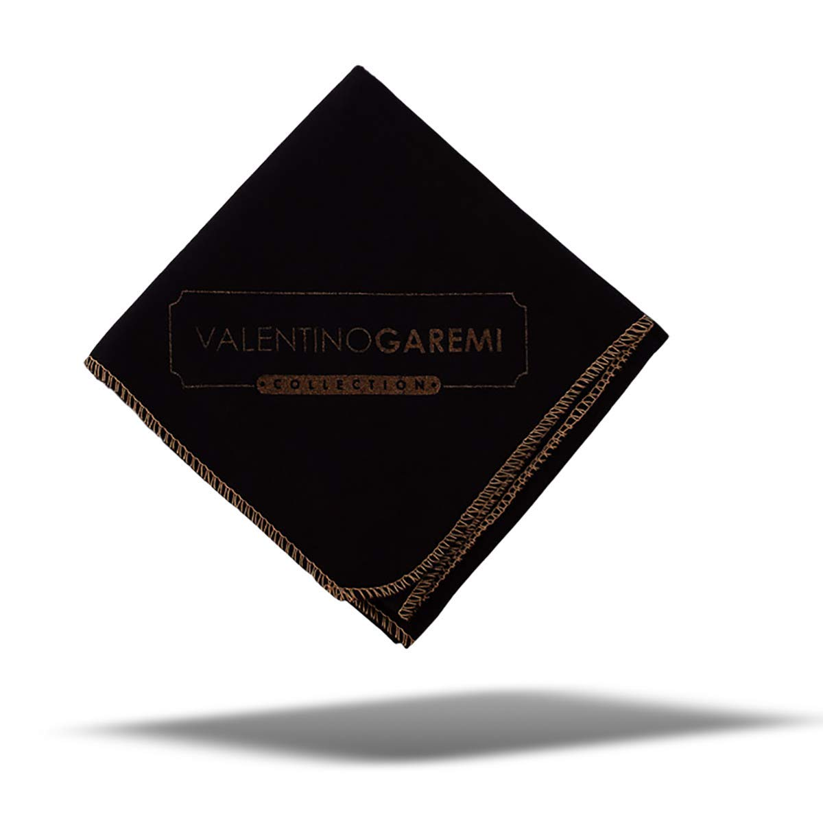 Valentino Garemi Polish Buff Cleaning Cloth – Black Edition Superior Cotton Fabric for Leather Shoes, Furniture, Musical Instrument, Car Seats, High End Garments, Wallet Purse Bags Cloth Jacket Cell