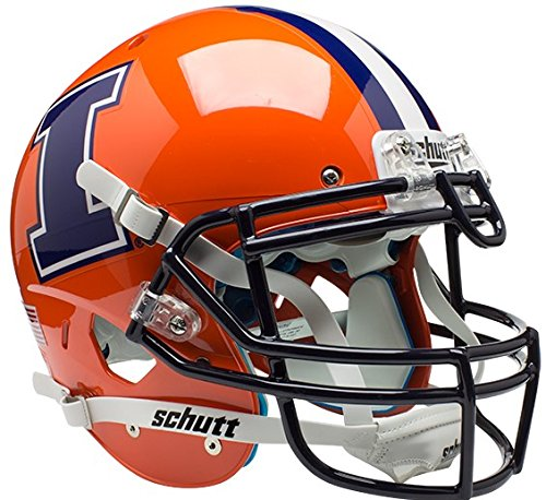 Schutt NCAA Illinois Illini On-Field Authentic XP Football Helmet