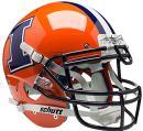 Schutt NCAA Illinois Illini On-Field Authentic XP Football Helmet