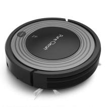 Robot Vacuum Cleaner and Dock - 1500pa Suction w/ Scheduling Activation and Charging Dock - Robotic Auto Home Cleaning for Carpet Hardwood Floor Pet Hair & Allergies Friendly - Pure Clean PUCRC96B