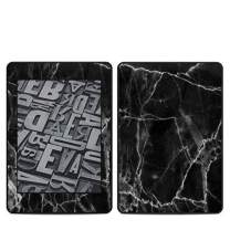 Black Marble Amazon Kindle Paperwhite 2018 Full Vinyl Decal - No Goo Wrap, Easy to Apply Durable Pro