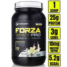 Forzagen Protein Powder 2 Lbs - Best whey Protein Shake | Weight Gainer | Increase Muscle Mass | Meal Replacement | Low Carb Protein Powder | Pre Workout and Post Workout