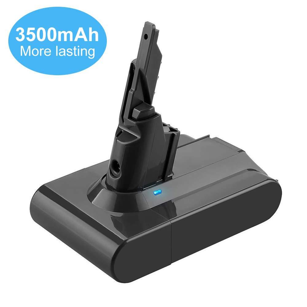 3.5Ah 21.6V Replacement for Dyson V7 Battery Lithium Handheld Vacuum Cleaners Cordless V7 Animal Replacement for Dyson 21.6 Volt Battery V7 HEPA Motorhead Pro V7 Trigger V7 Car+Boat