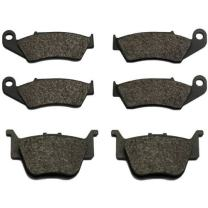 Volar Front & Rear Brake Pads for 2004-2011 Honda Sportrax 450 TRX450R TRX450ER